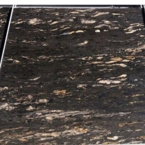 Cosmic Black Leather marble