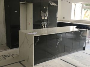 NQS Calacatta Quartz in london