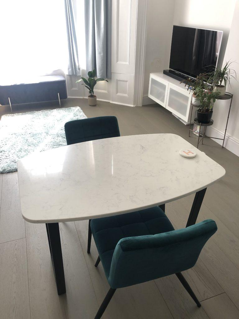 Bespoke Carrara Dining Table in UK