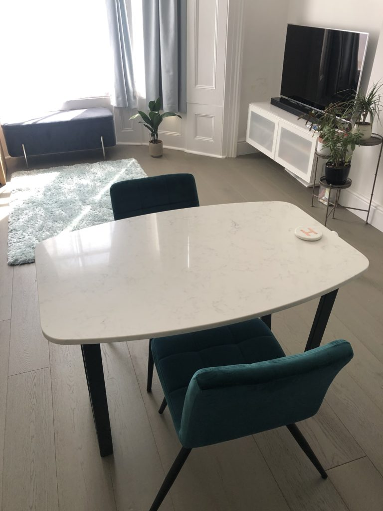 Bespoke Carrara Dining Table in london