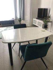 Bespoke Carrara Dining Table