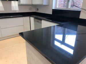 Absolute black granite in london