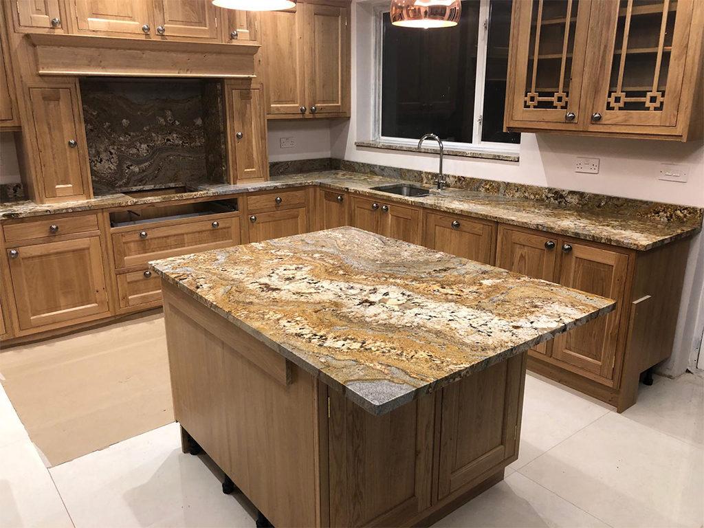 Paisley Gold Granite