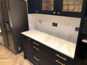 Classic Quartz Calacatta Gold Kitchen Worktop